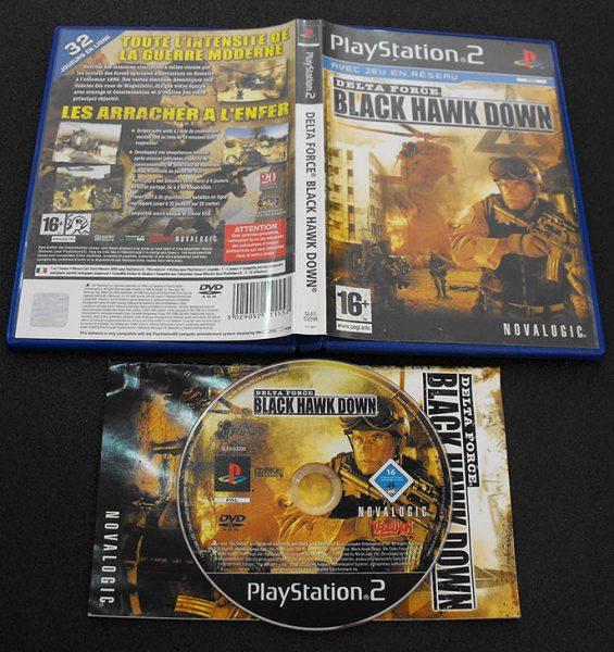 Delta Force: Black Hawk Down F PS2