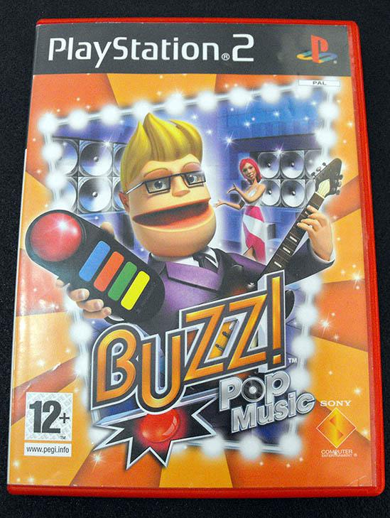 Buzz: Pop Music PS2