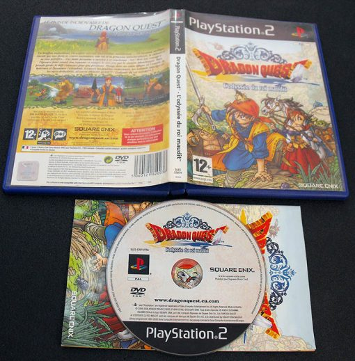 Dragon Quest: Journey of the Cursed King F PS2