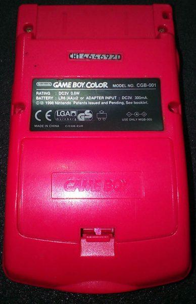 Consola Usada Nintendo Game Boy Color - Berry