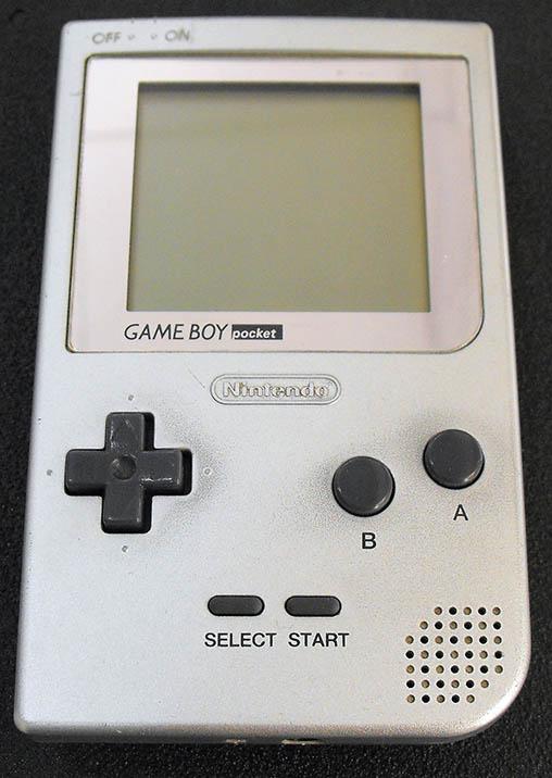Consola Usada Nintendo Game Boy Pocket Silver