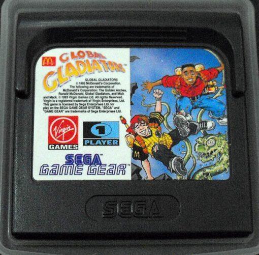 Global Gladiators GAME GEAR