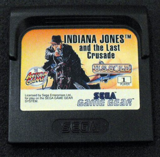Indiana Jones and the Last Crusade GAME GEAR