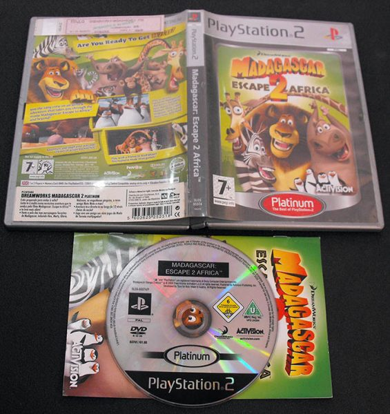 Madagascar: Escape 2 Africa PS2
