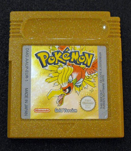 Pokémon Gold Version GAME BOY