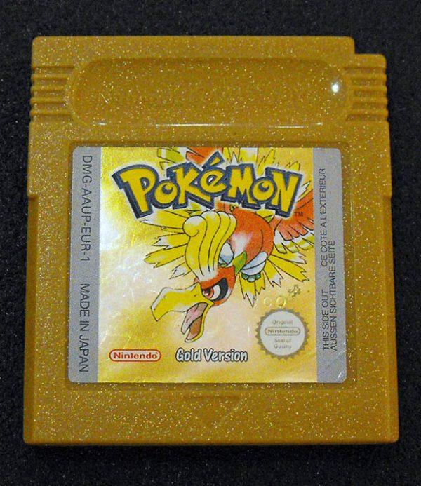 Pokémon Gold Version GAME BOY