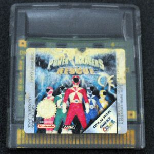 Power Rangers Rescue GAME BOY COLOR