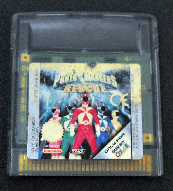 Power Rangers Rescue GAME BOY COLOR