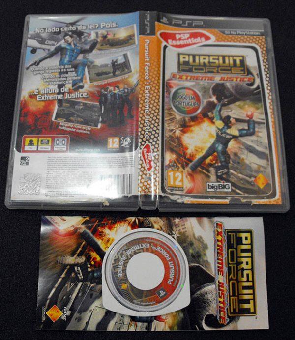 Pursuit Force: Extreme Justice PSP
