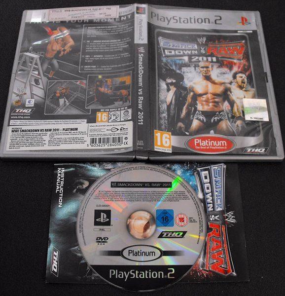 Smackdown vs Raw 2011 PS2