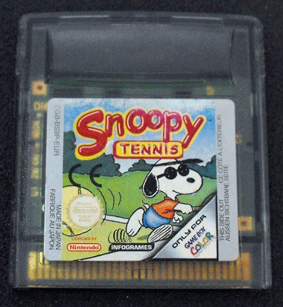 Snoopy Tennis GAME BOY COLOR