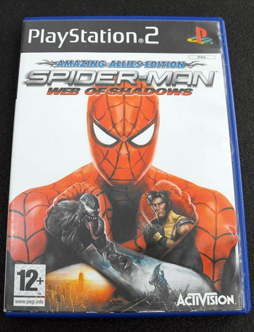 Spider-Man: Web of Shadows - Amazing Allies Edition PS2