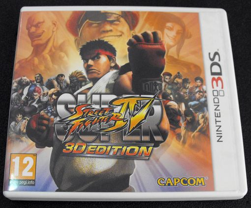 Super Street Fighter IV - 3D Edition 3DS