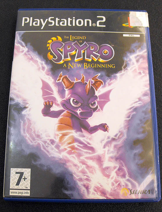 Legend of Spyro, The: A New Beginning PS2