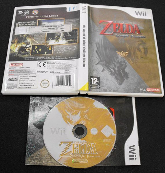 Legend of Zelda, The: Twilight Princess WII
