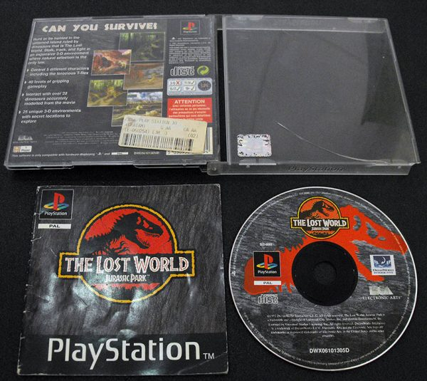 Jurassic Park: The Lost World PS1