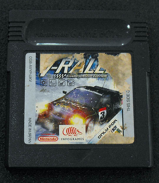 V-Rally GAME BOY