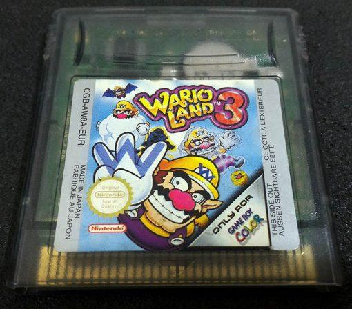 Wario Land 3 GAME BOY COLOR