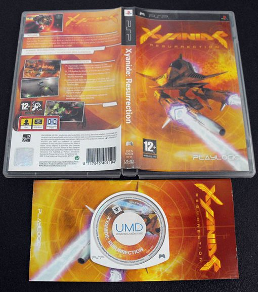 Xyanide Resurrection PSP
