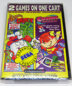 Fantastic Dizzy + Cosmic Spacehead Double Pack MEGA DRIVE