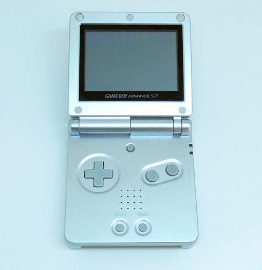 Consola Usada Nintendo Game Boy Advance SP Silver