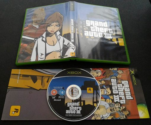 Grand Theft Auto Double Pack - The Xbox Collection XBOX