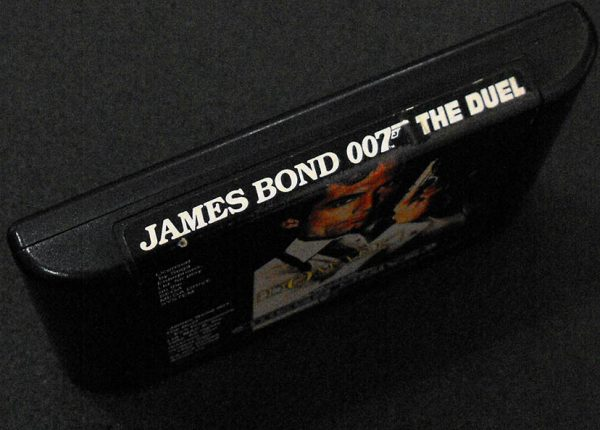 James Bond 007: The Duel CART MEGA DRIVE
