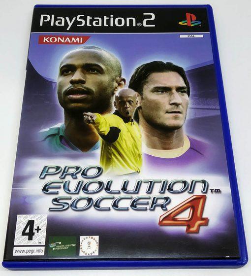 Pro Evolution Soccer 4 PS2