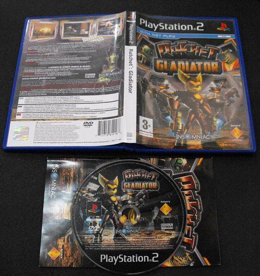 Ratchet Gladiator PS2