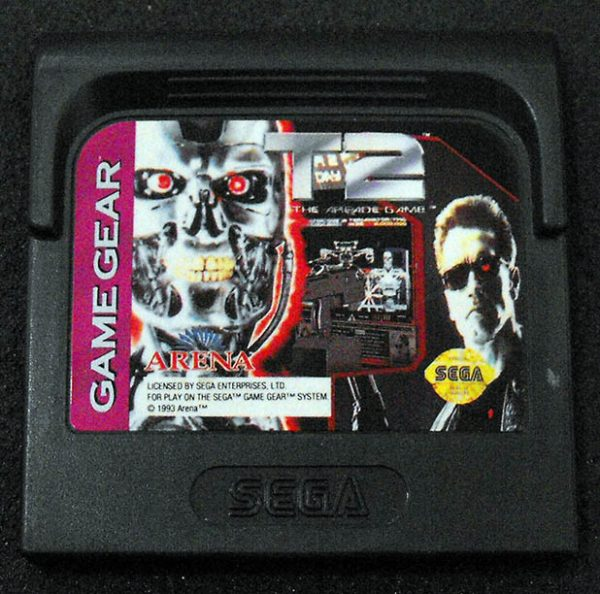 T2: The Arcade Game GAME GEAR