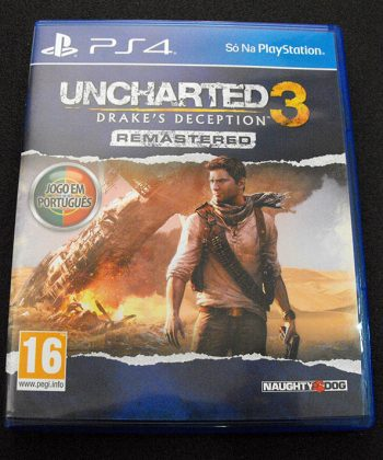 Uncharted 3: Drake's Deception Remastered PS4