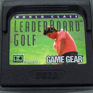 World Class Leaderboard Golf GAME GEAR