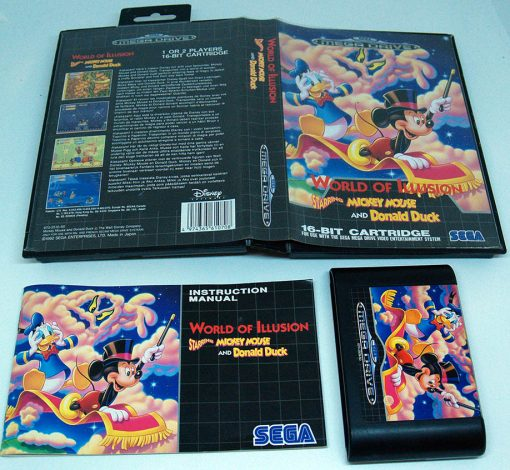 World of Illusion - Starring Mickey Mouse and Donald Duck MEGA DRIVE