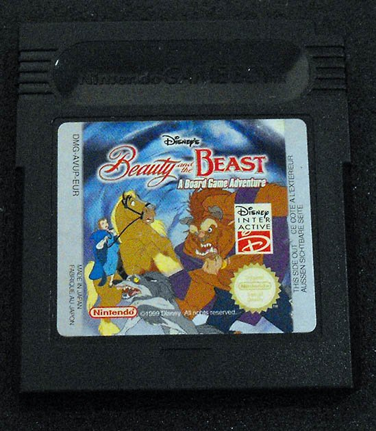 Beauty & The Beast: A Board Game Adventure GAME BOY