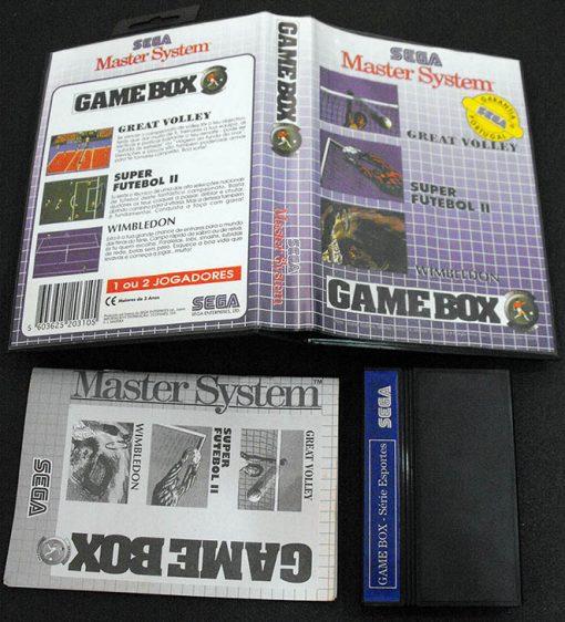 Game Box: Série Esportes MASTER SYSTEM