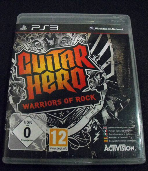 Guitar Hero: Warriors of Rock PS3