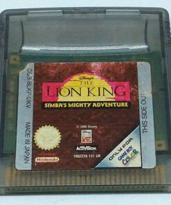 Lion King: Simba's Mighty Adventure GAME BOY COLOR