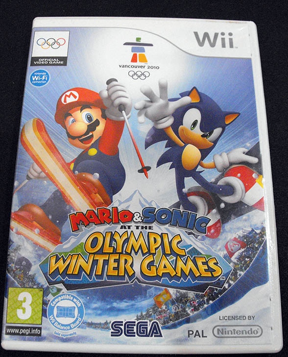 Mario & Sonic at the Olympic Winter Games WII