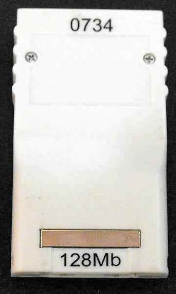 Acessório Usado Memory Card 128MB GameCube