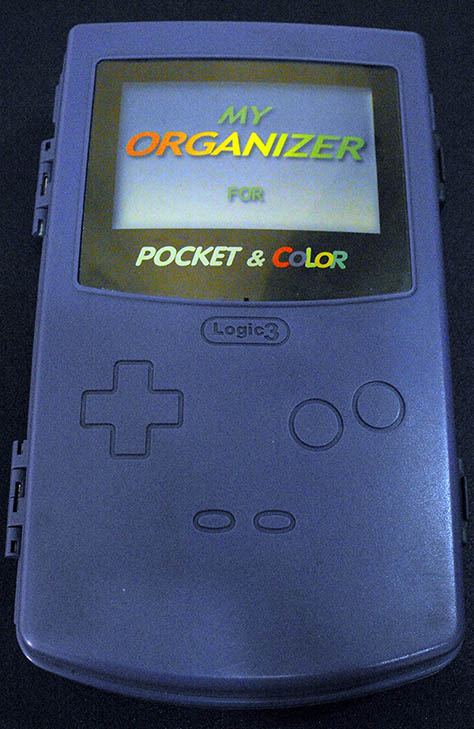 Acessório Usado Game Boy My Organizer for Pocket & Color