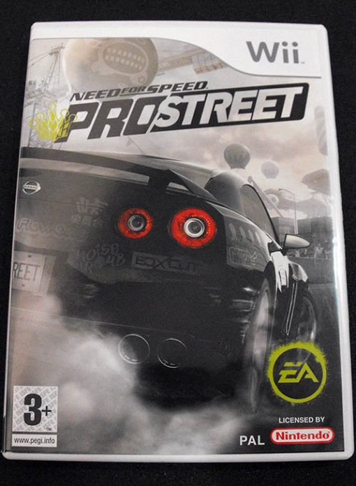 Need for Speed: ProStreet WII