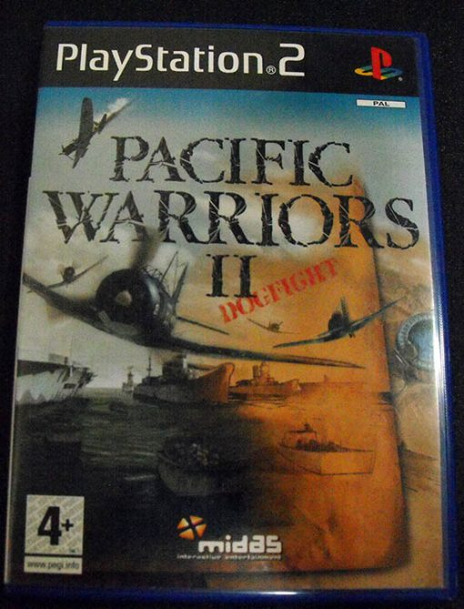 Pacific Warriors 2: Dogfight PS2