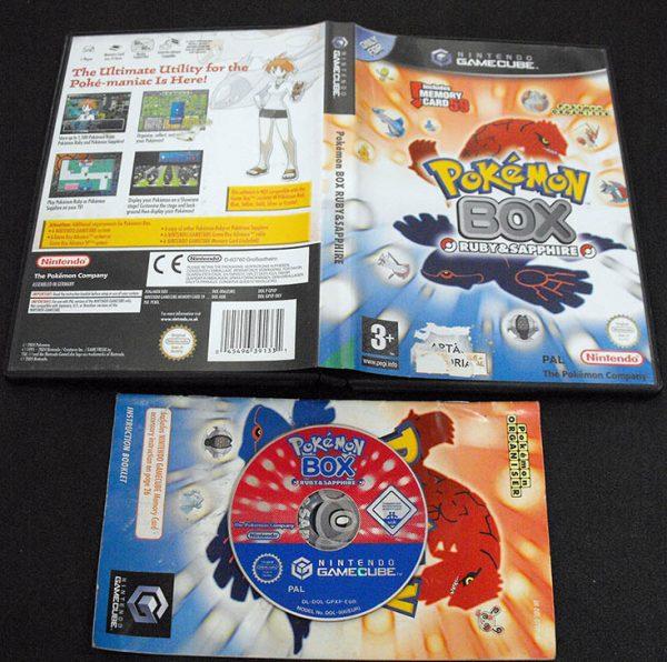 Pokémon Box: Ruby & Sapphire GameCube