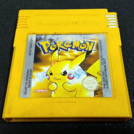Pokémon Yellow Version GAME BOY