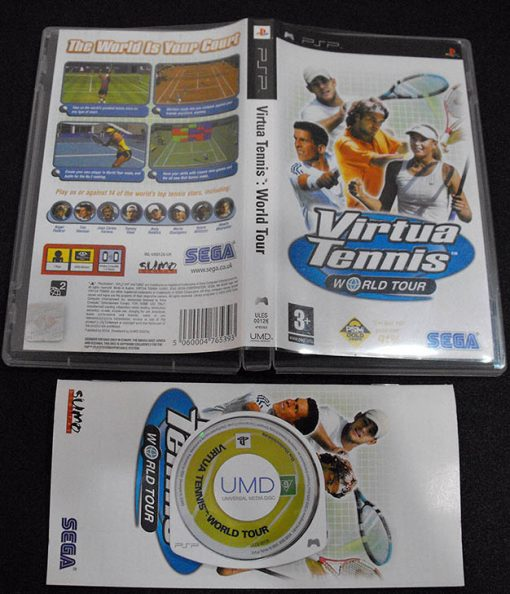 Virtua Tennis: World Tour PSP