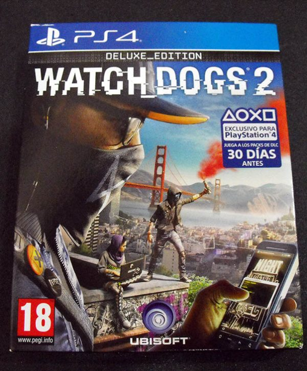Watch Dogs 2 - Deluxe Edition PS4