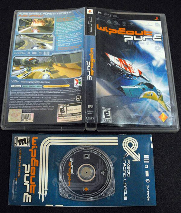 Wipeout Pure PSP