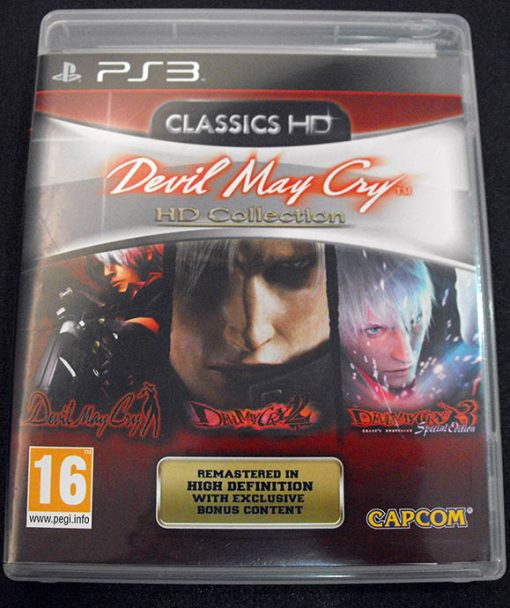 Devil May Cry: HD Collection PS3