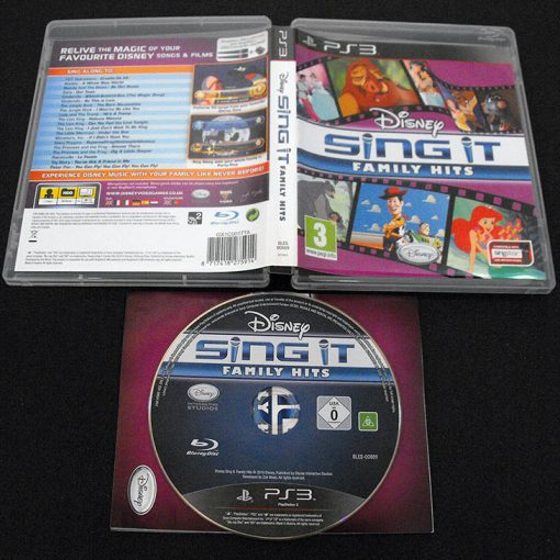 Disney Sing It: Family Hits PS3
