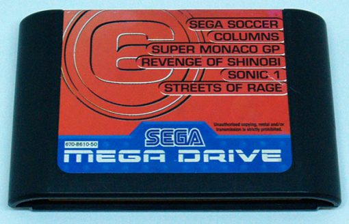 Mega Games 6 Vol.3 CART MEGA DRIVE